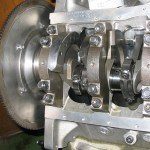 Crankshaft installation 2R